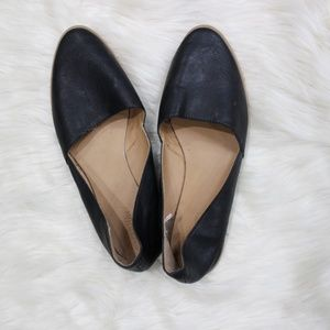 Old Navy Black Faux Leather Flats. 3 for $20.